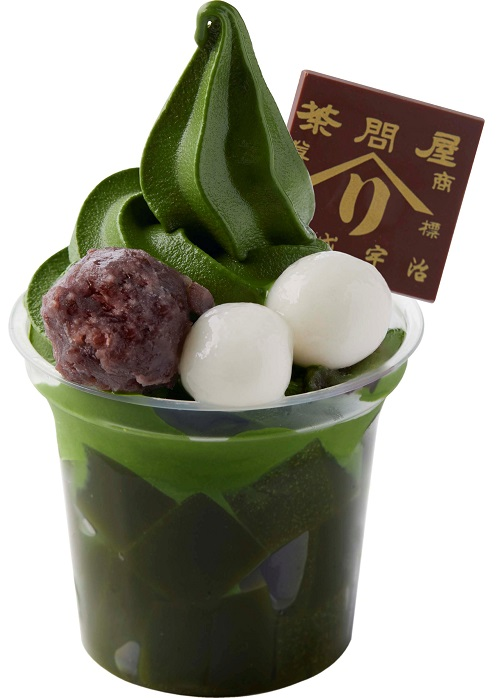 〈辻利兵衛本店〉お濃茶パフェ