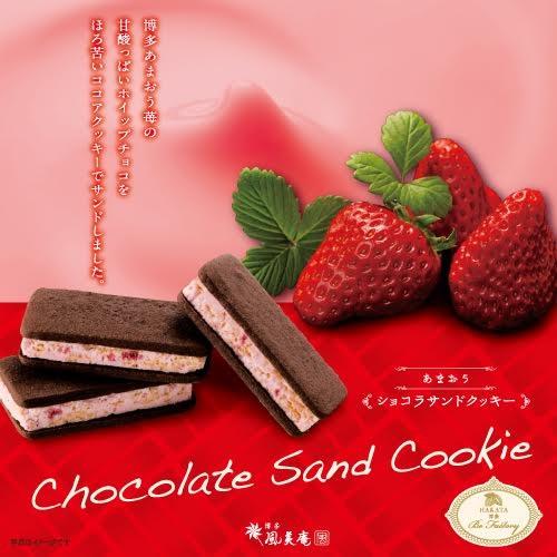 〈博多風美庵〉あまおうショコラサンドクッキー