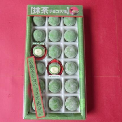 抹茶チョコ大福 | 人気の空弁・お土産満載!|BLUE SKY(ブルースカイ)